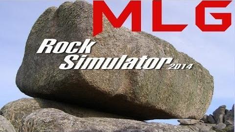 MLG Rock Simulator