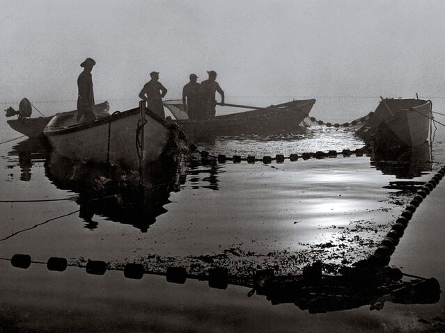 File:Fishermen-with-nets b&w.jpg