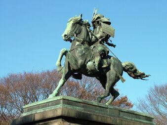 1280px-Kusunoki Masashige statue