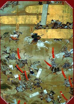 Sengoku period battle