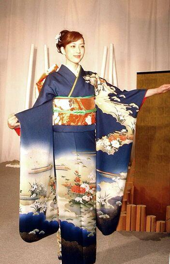 Kimono wear