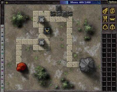 Gemcraft Chapter 0 Level 3 Map