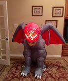 Gemmy Prototype Halloween Gargoyle Inflatable Airblown