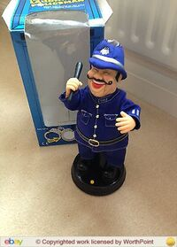 The Laughing Policeman electronic singing and dancing animated toy