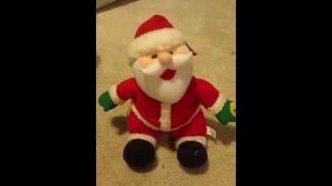 Gemmy animated singing santa