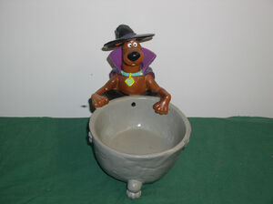 Gemmy Halloween Scooby doo candy bowl
