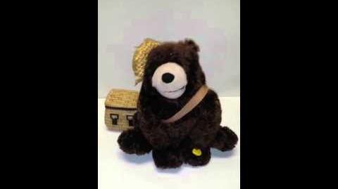 Gemmy animated Fishing Bear
