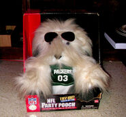 Green Bay Packers NFL Party Pooch Dog Dances Sings To Who Let The Dogs Out