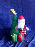 Gemmy inflatable snoopy christmas scene