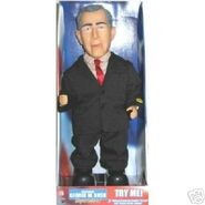 GEORGE W BUSH SUPERSTAR ANIMATED, DANCING, TALKING DOLL
