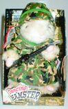 Sgt. Scruffy Army Singing Hamster