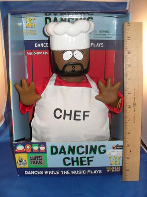 Gemmy 1998 south park dancing chef
