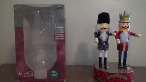 """Gemmy Animated """"Dancing Musical Nutcrackers"""" (Rare)"""