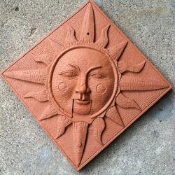 Clay Look 3D Singin SUN FACE Placque Music Animated Gemmy
