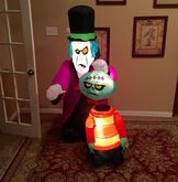 Gemmy Prototype Halloween Monsters Inflatable Airblown