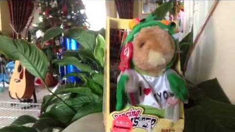 (Gemmy) Dancing Hamster - Hamzilla - Godzilla Parody