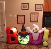Gemmy Prototype Halloween BOO Inflatable Airblown