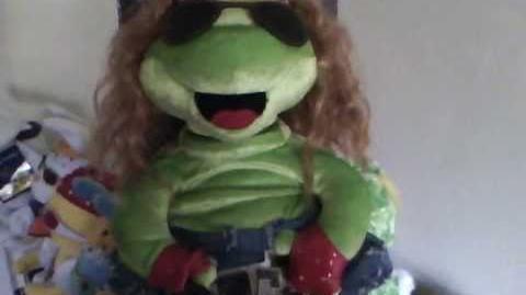 "80's Frogz! ""were not gonna take it"""