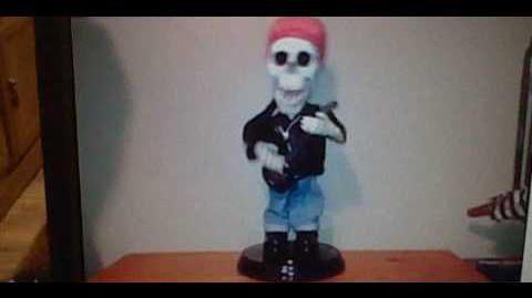 (GMA Re Upload) Gemmy rocking skeleton
