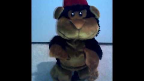 Moving monkey Mojo (New camera)