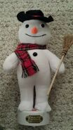 Gemmy Industries North Pole Productions animated snowman musical