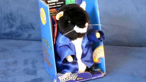 """Dancing Hamster Collection BLUE """"Blue Suede Shoes"""""""