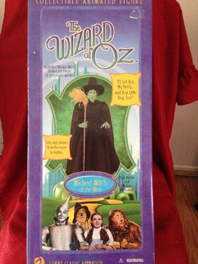 WICKED WITCH OF THE WEST ~ ANIMATED 18'' FIGURE~ 2001 THE GEMMY CLASSIC ANIMATION