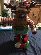 Gemmy animated Holiday Tabletop Dancers Elf Reindeer