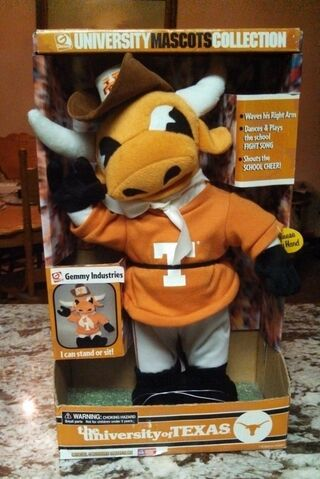 File:The university of Texas singing and dancing mascot in box 2001 6.jpg