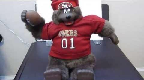 NFL quarterbear (49ers version)