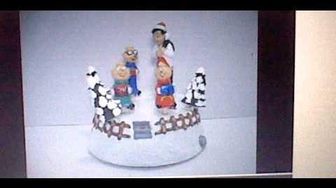 Skating alvin and the chipmunks (Gemmy 1998)