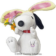 Animated Easter Snoopy
