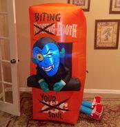 Gemmy Prototype Halloween Vampire Booth Inflatable Airblown