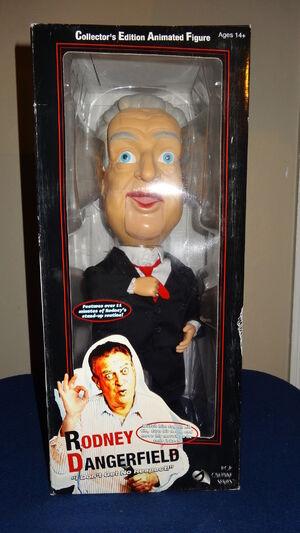 Gemmy 2003 Rodney Dangerfeild doll