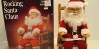 Rocking chair Santa
