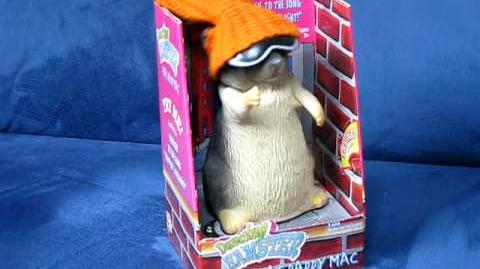 """Dancing Hamster Collection Classic PHAT DADDY MAC """"Rapper's Delight"""""""