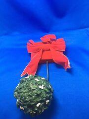 VINTAGE Gemmy Holiday Talking Mistletoe Animated Holiday Decor Motion Activated 8