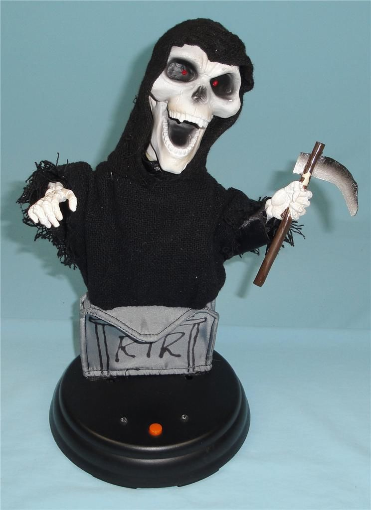 gemmy halloween grooving ghoulie halloween grim reaperjpg - Www Gemmy Com Halloween