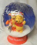 Gemmy Airblown Inflatable Musical Disney WINNIE THE POOH Snow Globe Indoor