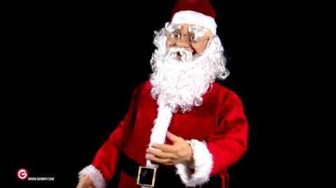 Life Size Animated Santa