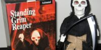 Standing Grim Reaper