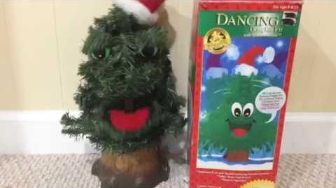 Gemmy 1997 Animated Dancing Douglas Fir