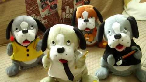 The Beagles! The Beatles Singing Dogs (Gemmy Item) - Full Set of 4!