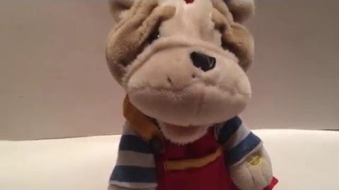 Gemmy Animated Singing & Dancing Spinning Bulldog ''Hokey Pokey'' EXTREMELY RARE!