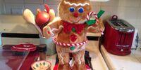 Hula Hoop Gingerbread Man
