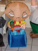 LOT OF 2 FAMILY GUY INFLATABLES 2005 GEMMY. STEWIE AND PETER. New. 4