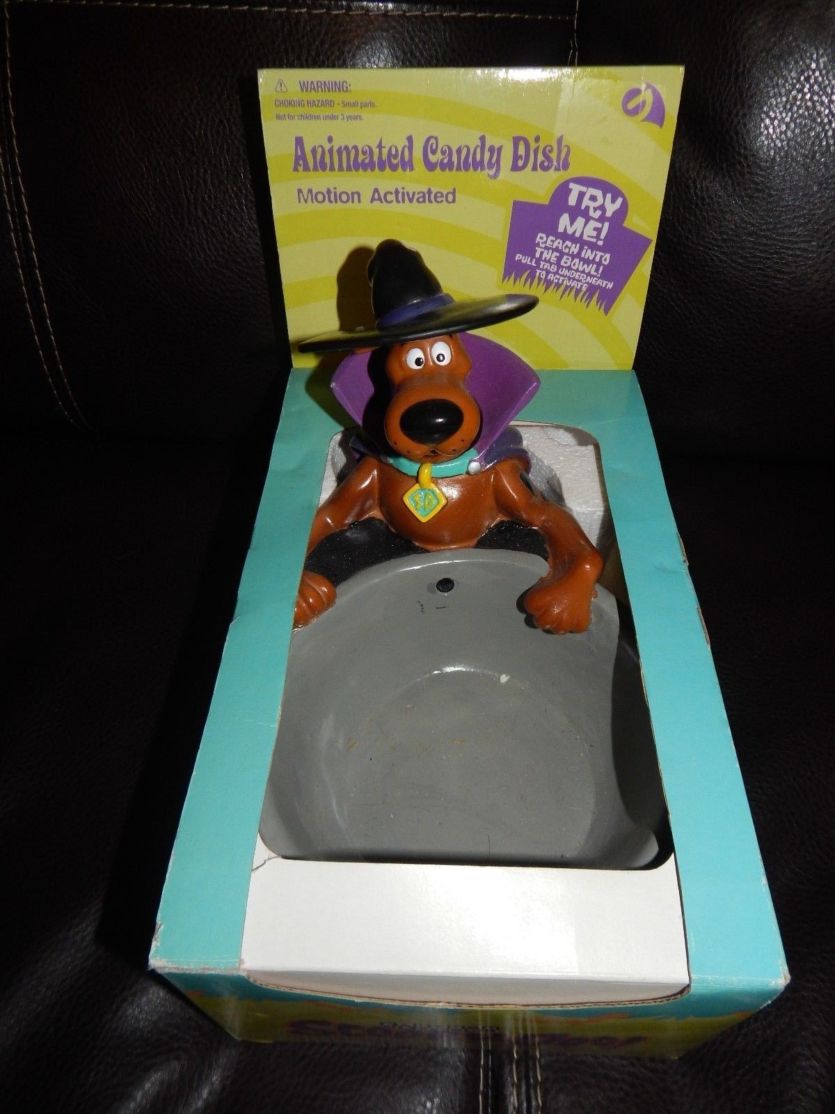 scooby doo animated candy dish new gemmy halloweenjpg - Www Gemmy Com Halloween
