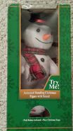 Gemmy Industries North Pole Productions animated snowman musical 3