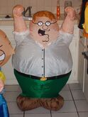 LOT OF 2 FAMILY GUY INFLATABLES 2005 GEMMY. STEWIE AND PETER. New. 3