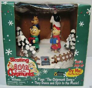 Skating Alvin and the chipmunks